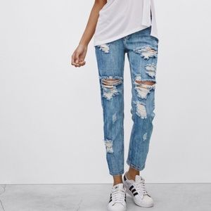 One Teaspoon destroyed ripped jeans 23 25 26